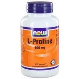 Afbeeldingen van NOW L-Proline 500 mg