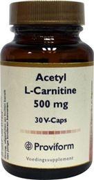 Afbeeldingen van Proviform Acetyl L-carnitine 500 mg