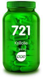 Afbeeldingen van AOV 721 Krill olie 500 mg