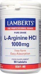 Afbeeldingen van Lamberts L-Arginine 1000 mg