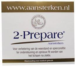 Afbeeldingen van 2-Prepare Aansterken L Glutamine poeder EGCG sachets 150 mg
