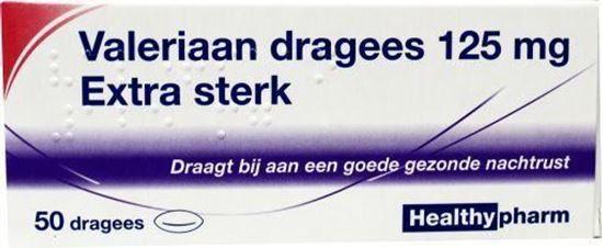 Afbeelding van Healthypharm Valeriaan extra sterk 125 mg