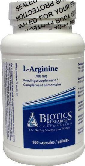 Afbeelding van Biotics L-Arginine 700 mg