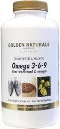Afbeeldingen van Golden Naturals Omega 3 6 9