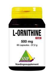 Afbeeldingen van SNP L-Ornithine 500 mg puur