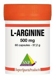 Afbeeldingen van SNP L-arginine 500 mg puur