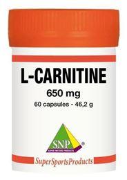 Afbeeldingen van SNP L-Carnitine 650 mg puur