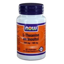 Afbeeldingen van NOW L-Theanine 200 mg met Inositol 100 mg
