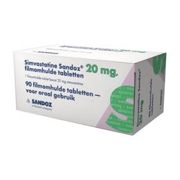 Simvastatine 20mg 90tb