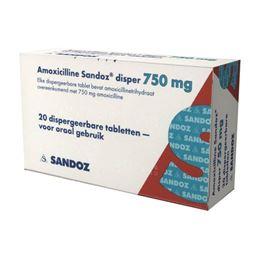 Amoxicilline 750mg 20tb