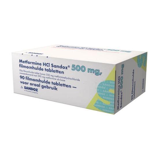 Metformine 500mg 90tb
