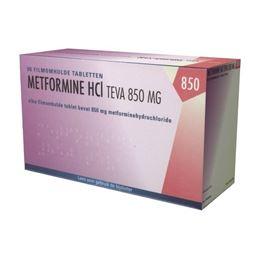 Metformine 850mg 90tb