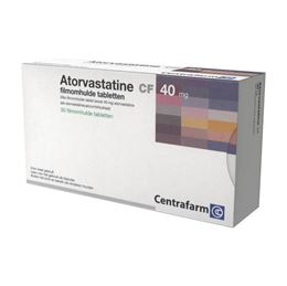 Atorvastatine 40mg 30tb