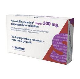 Amoxicilline 500mg 20tb