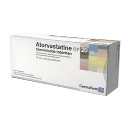 Atorvastatine 20mg 30tb