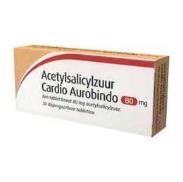 Acetylsalicylzuur 80mg 30tb