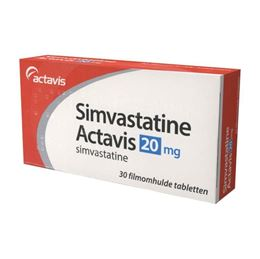 Simvastatine 20mg 30tb