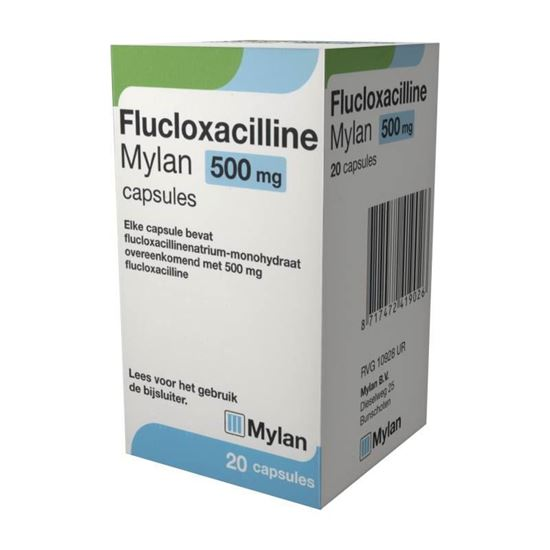 Flucloxacilline 500mg 20caps