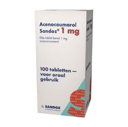 Acenocoumarol 1mg 100tb