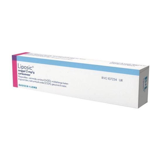 Vidisic Carbogel 2mg/g 10g tube