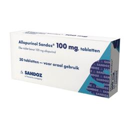 Allopurinol 100mg 30tb