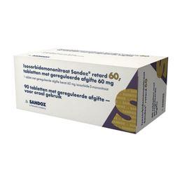Isosorbidemononitraat 60mg 30tb