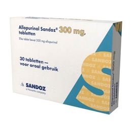 Allopurinol 300mg 30tb