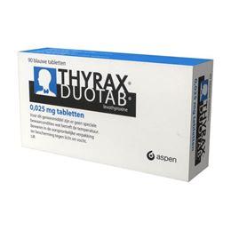 Thyrax 0,025mg 90tb