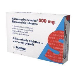 Azitromycine 500mg 3tb
