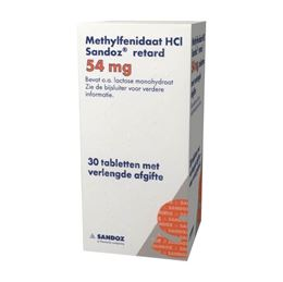 Methylfenidaat 54mg retard 30tb