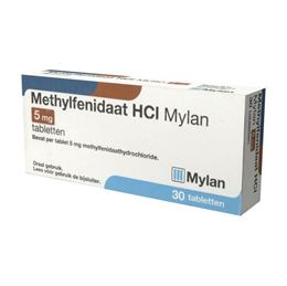 Methylfenidaat 5mg 30tb