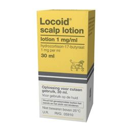 LOCOID SCALP LOTION 1MG/ML 30 ML