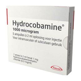 Hydrocobamine injvlst 500mcg/ml ampul 2ml 5st