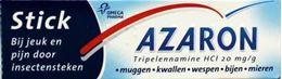 Afbeeldingen van Azaron stick - verlicht pijn na insectenbeet - 5,75g