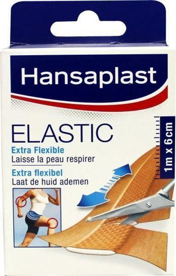 Afbeelding van Hansaplast Elastic 1m x 6cm