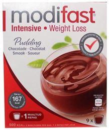 Afbeeldingen van Modifast Intensive Pudding Chocolade 423g