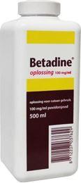 Afbeeldingen van Betadine Jodium oplossing 100 mg/ml