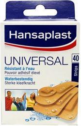 Afbeeldingen van Hansaplast Universal strips 40st