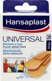 Afbeeldingen van Hansaplast Universal strips 20st
