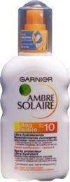 Afbeeldingen van Garnier Ambre solaire spray SPF 10 200ml