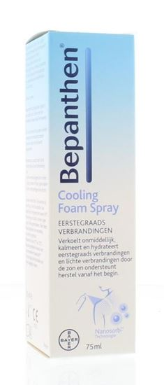 Afbeelding van Bepanthen Cooling Foamspray 75ml
