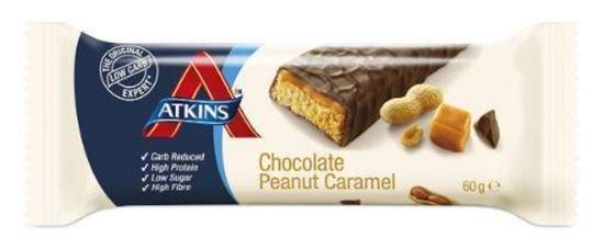 Atkins Chocolate Peanut Caramel Reep 60g