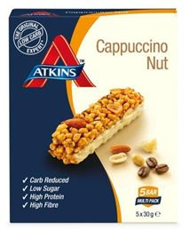 Atkins Day Break Capuccino Nut Reep 5x30g
