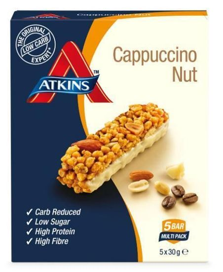 Atkins Day Break Capuccino Nut Reep 5x30g