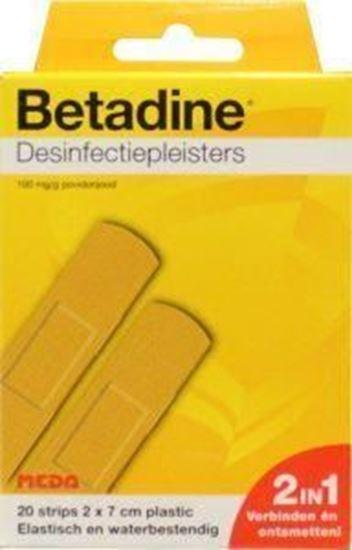 Betadine Desinfectiepleisters 2 x 7cm 20st