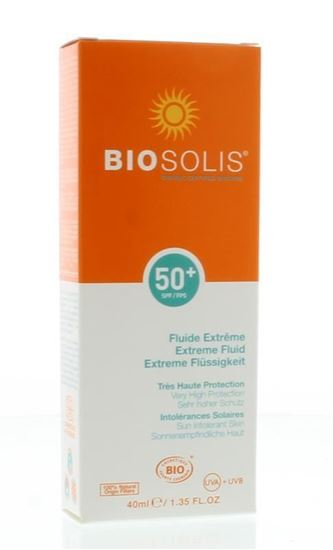 Biosolis Extreme fluid face SPF 50+ 40ml