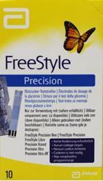 Freestyle Precision teststrips 10st