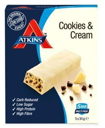 Atkins Cookies & Cream Reep 5x30g