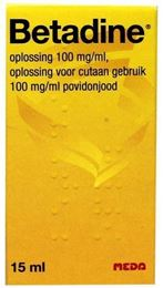 Betadine Jodiumoplossing 15ml