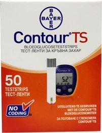 Bayer Contour TS teststrips 50st